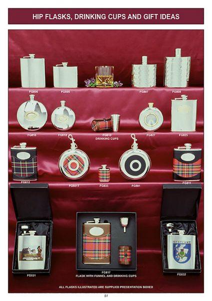 gift ware hip flask gift set