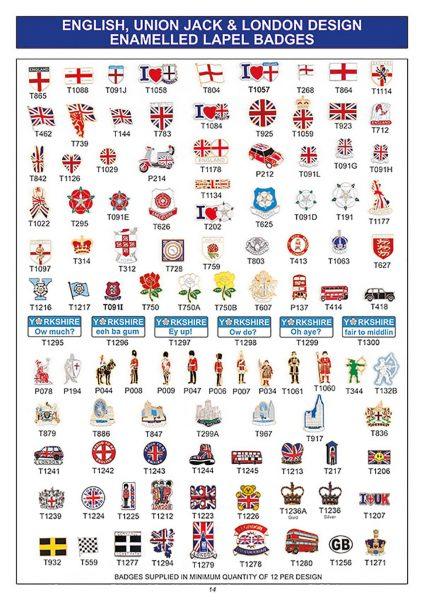 souvenir england union jack london badges