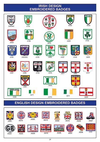 souvenir irish design badges